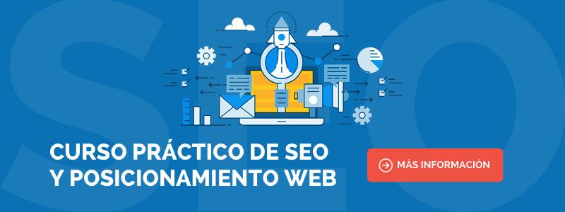 Curso de SEO y Posicionamiento Web en Barcelona
