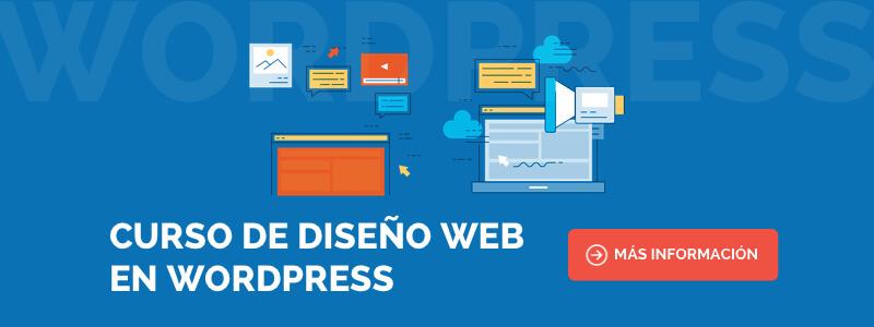 Curso de WordPress profesional y diseño web en Barcelona