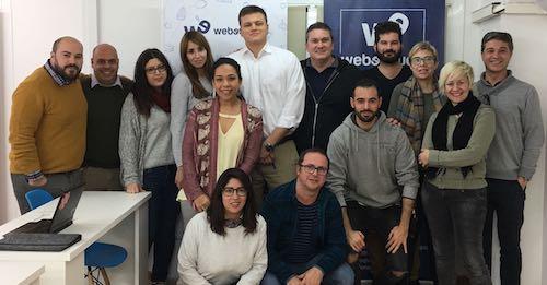 Alumnos de los cursos de Webescuela