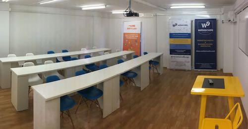 Aula de Webescuela en Barcelona