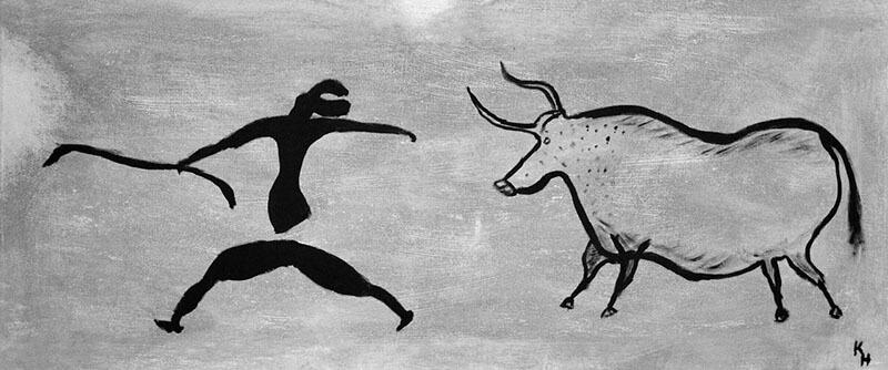 ¿Estaban los hombres primitivos contándonos una historia?