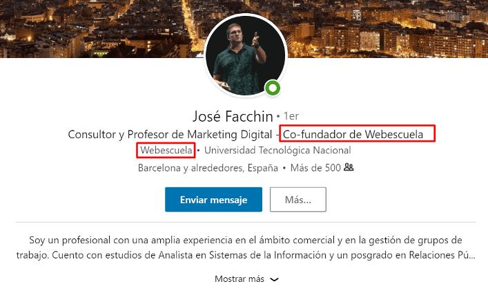 ► Perfil Personal: José Facchin