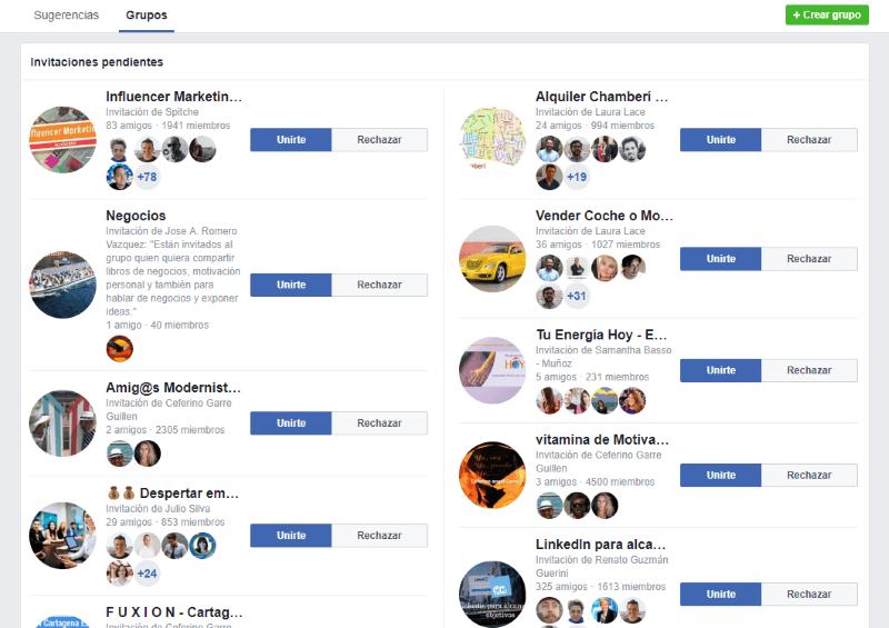 ¿Qué son los grupos de Facebook?