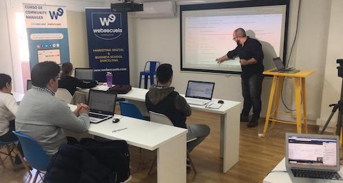 Aulas de Webescuela en Barcelona
