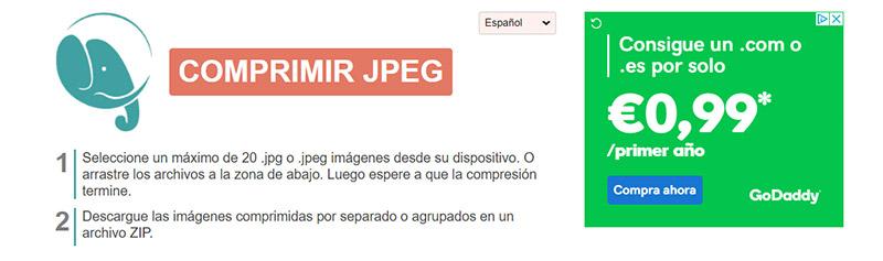 Compress JPEG