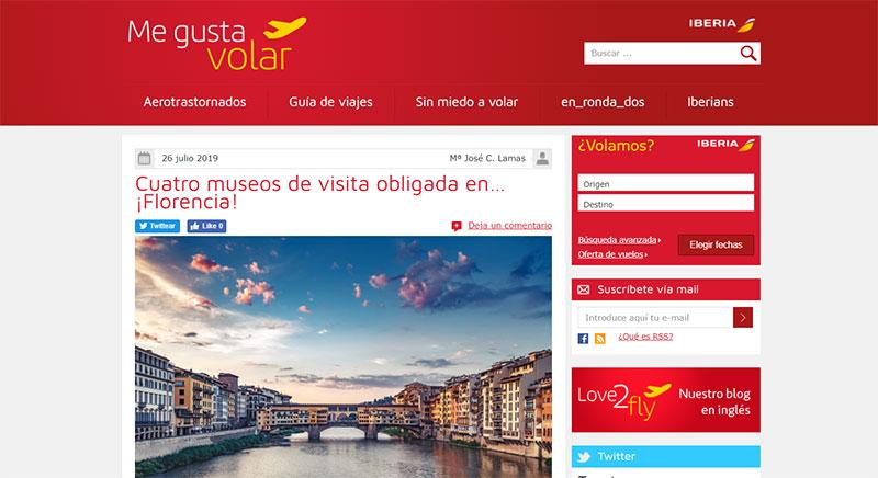 Blog de Iberia