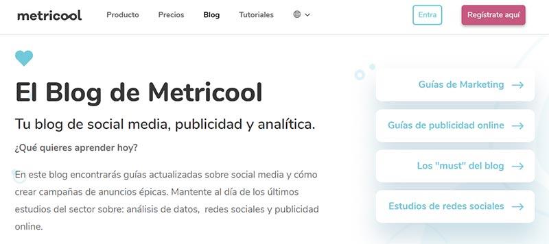 El Blog de Metricool