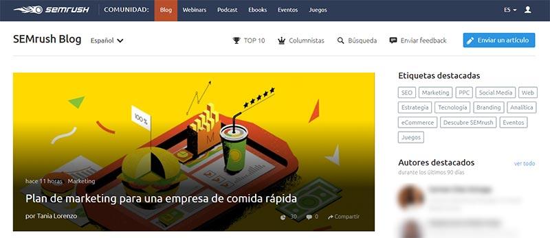El Blog de SEMrush en español