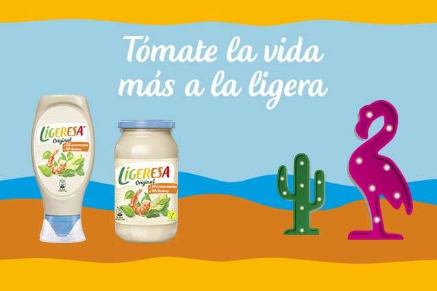 Ligeresa, la mayonesa más ligera con menos grasa
