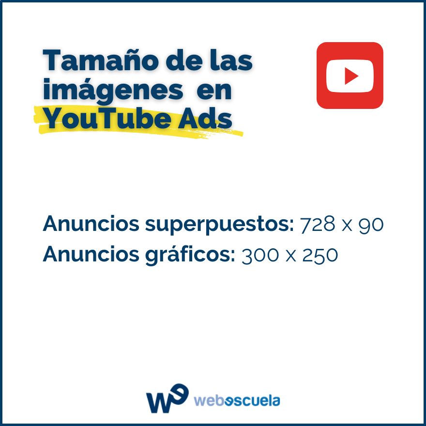 Dimensiones YouTube Ads