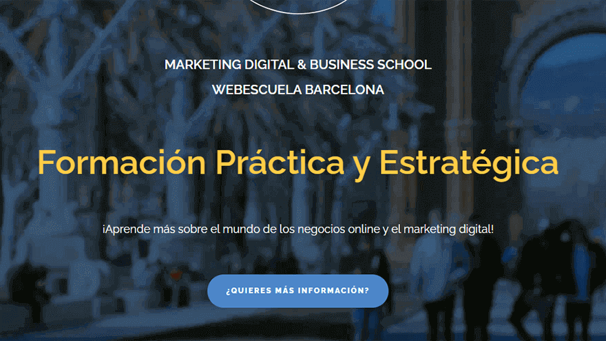 Ejemplo Call To Action Webescuela