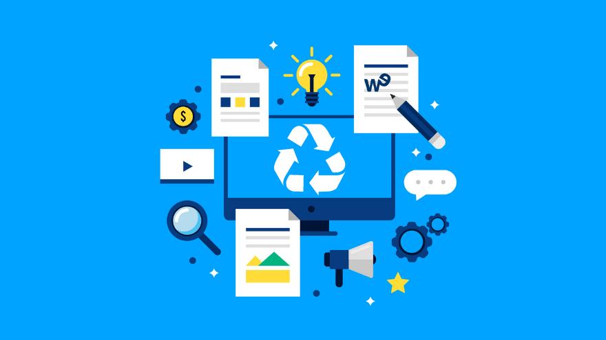 Formatos e ideas para reciclar contenidos
