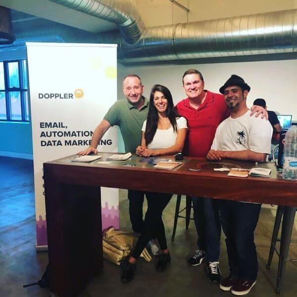 Stand Doppler Meetup Webescuela