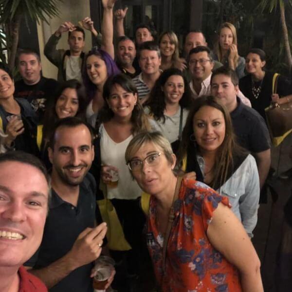 Primer Meetup Webescuela Marketing Digital