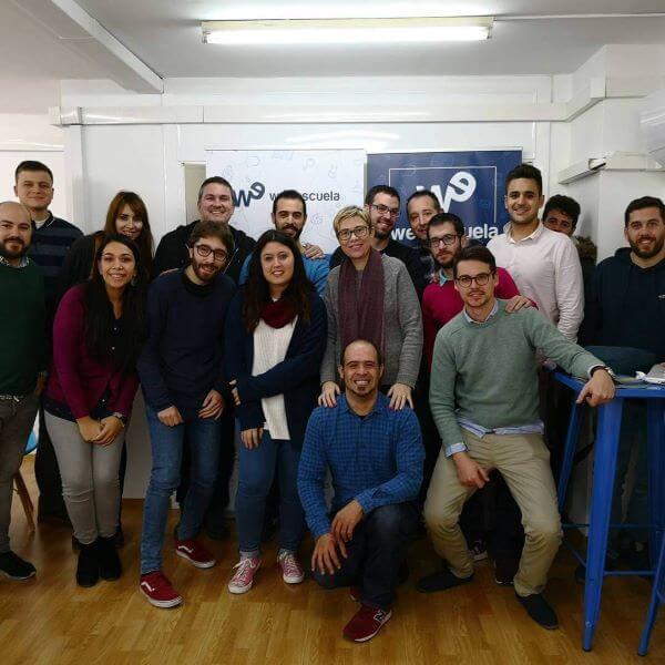 Alumnos y profesores escuela de Marketing Webescuela