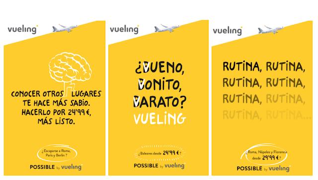Tono de voz de Vueling