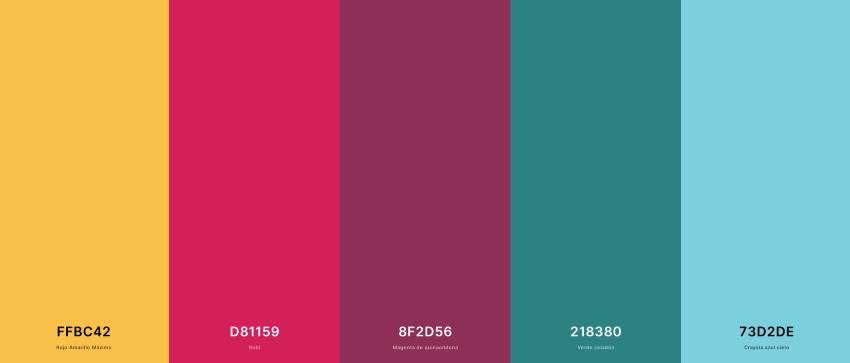 Identidad Visual: paleta de colores