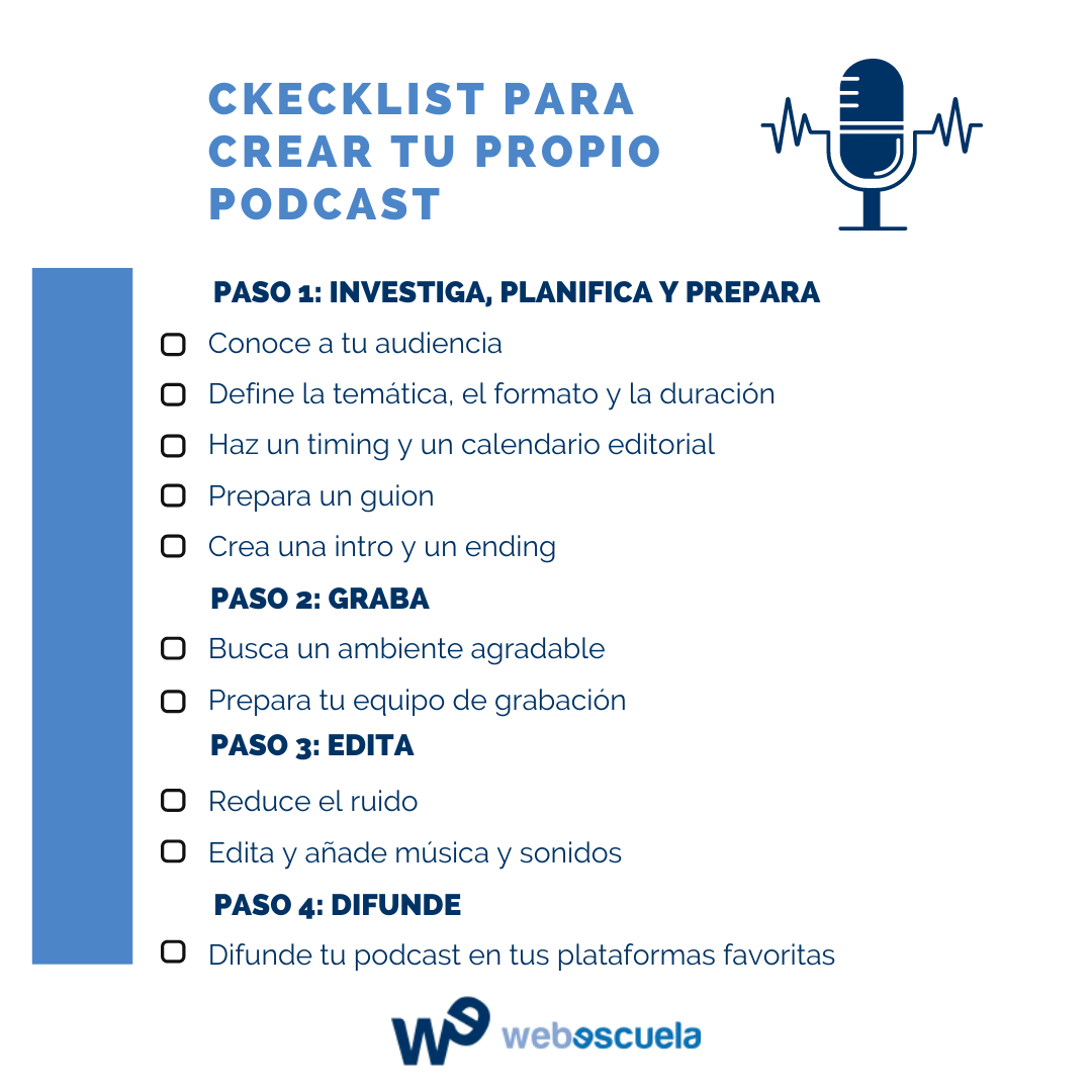 ¿Cómo crear un podcast paso a paso?
