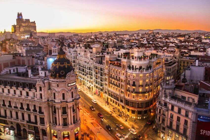 Ejemplo de SEO Semántico Ciudad de Madrid